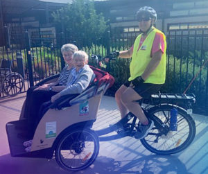 Cycling without Age, Care services, Assistance, Care