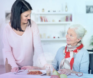 Home Care, Caregivers, Mealtime Support, Assistance with Eating, Food